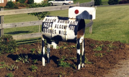 PS-4089 Dairy Cow Mailbox, Franklin County, VA