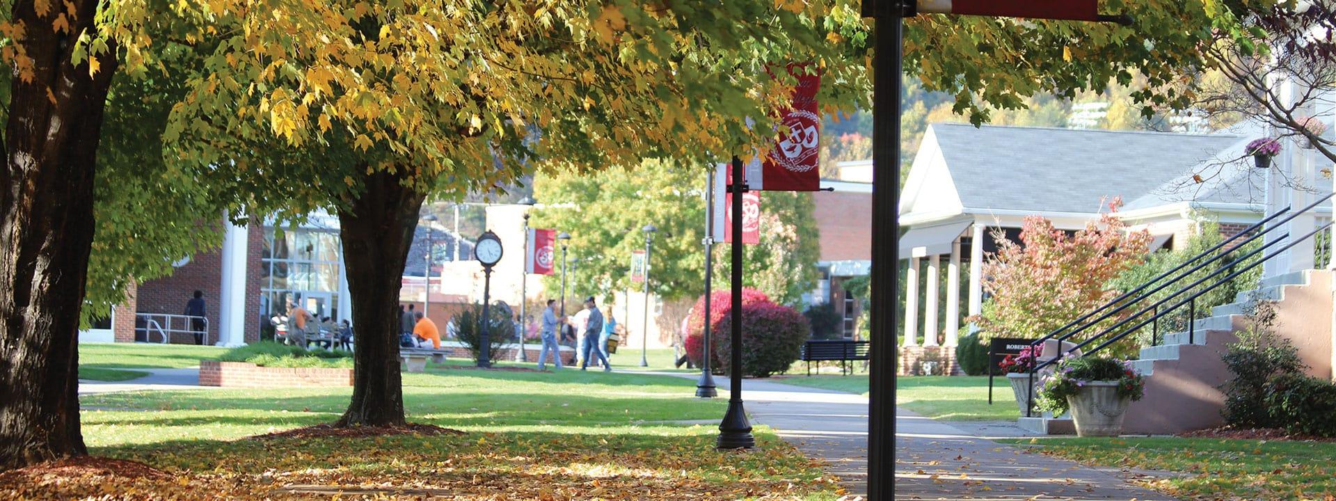 Ferrum College in the Fall
