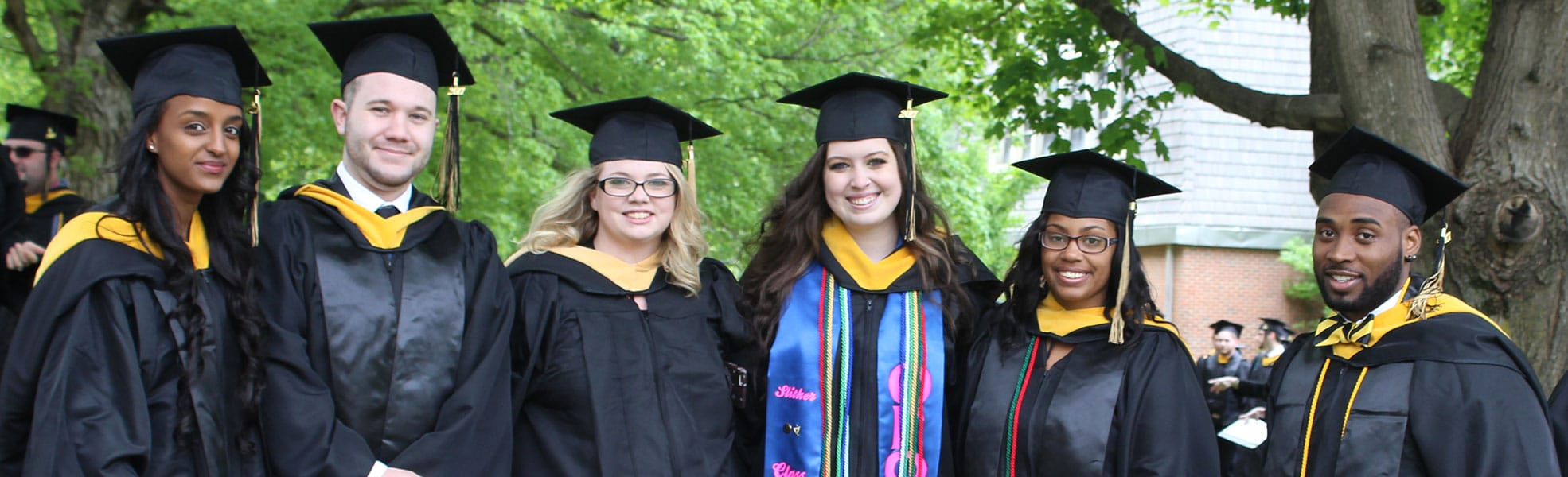 Ferrum College grads