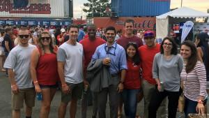 Alumni attend Washington Nationals Game