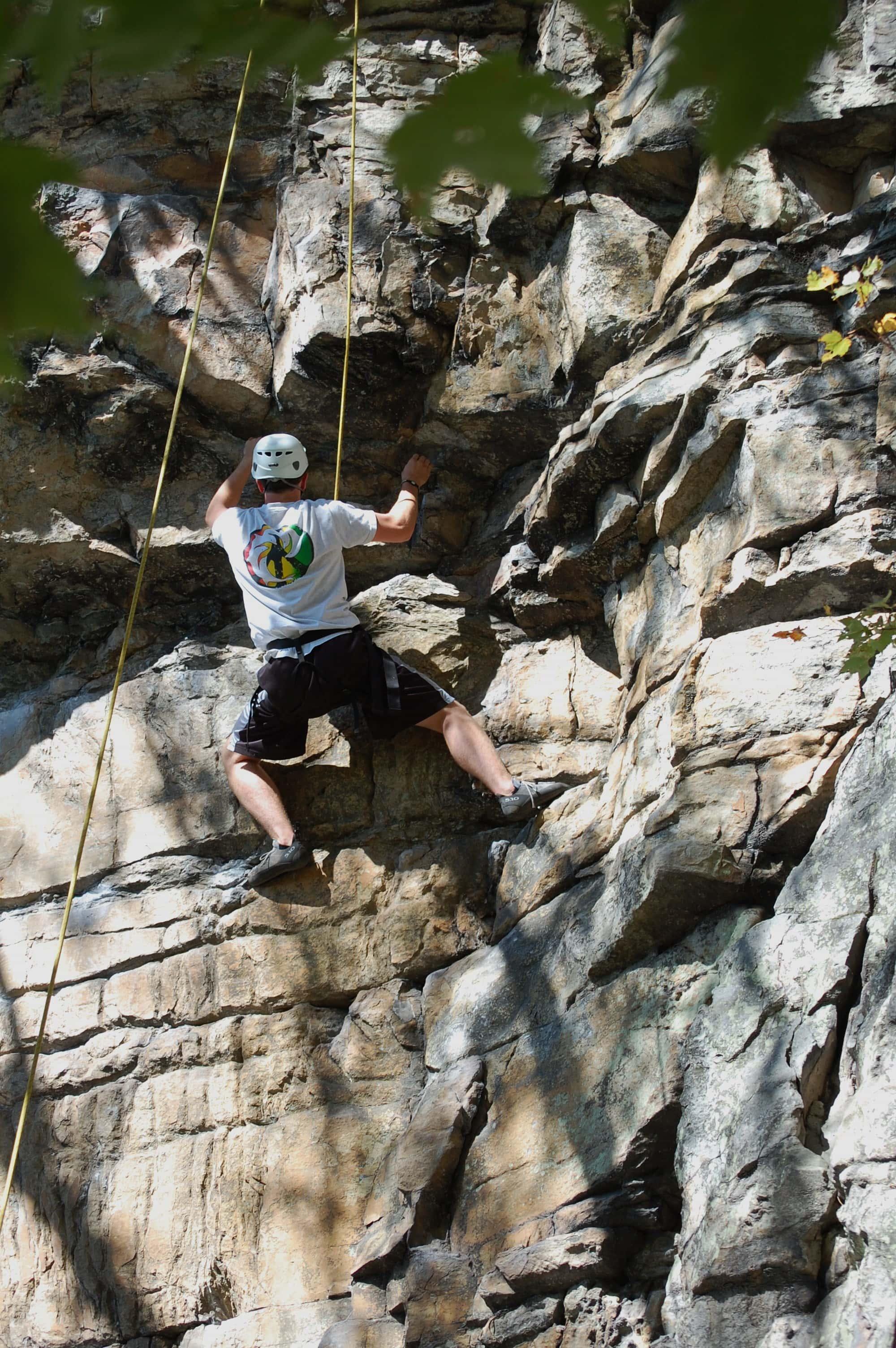 ferrum rock climbing