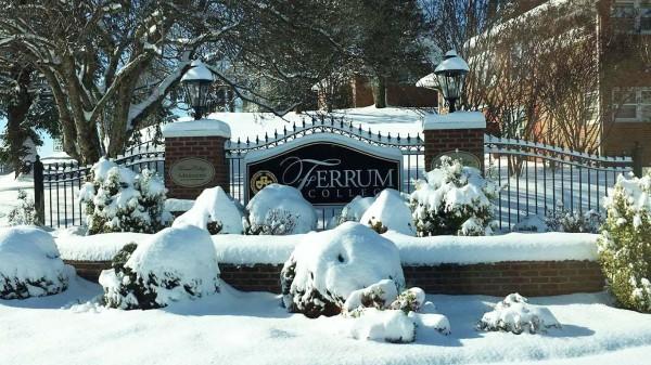 Ferrum College Winter - Victoria Bowman '14 photo