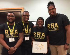 Ferrum College RHA Program of the Year winners