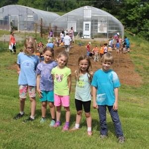 Ferrum College Giving Garden Planting Day