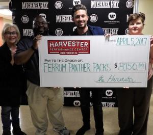 Panther Packs Benefit Concert