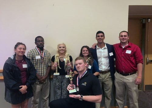 Criminal Justice Students & Faculty Successfully Compete at Regional Conference