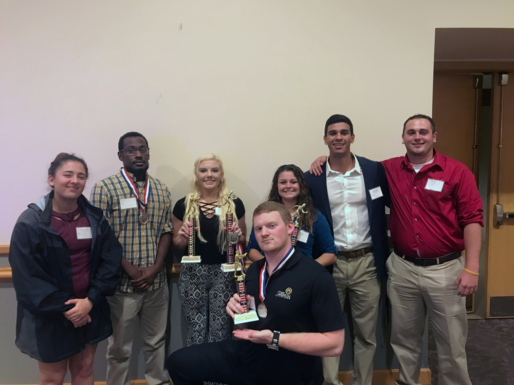 ACJA Ferrum College Criminal Justice students attend Region 4 Conference 2017