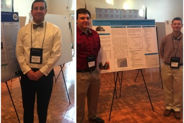 Students Win Accolades at Virginia Academy of Science Fall Undergraduate Meeting