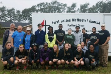 Students and Staff Take a Spring Break Mission Trip to Texas to Assist Hurricane Harvey Victims
