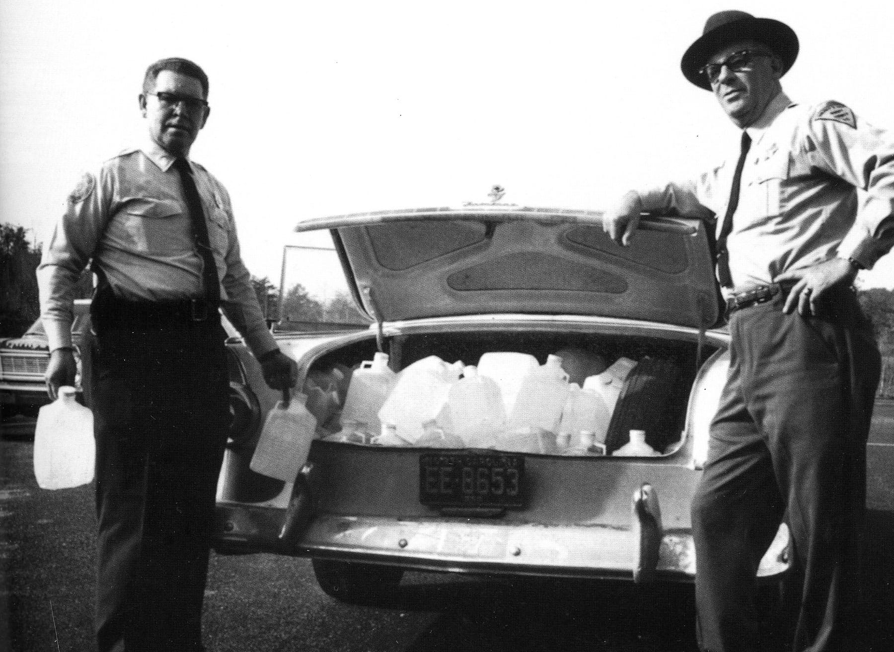Moonshine Car - Terry Hall Collection
