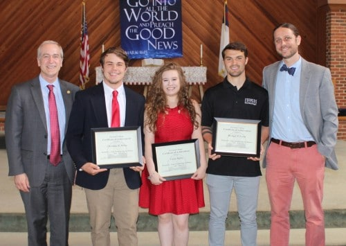 Students Honored During Academic Awards Ceremony 2018