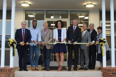 Ferrum College Riddick Hall Ribbon Cutting