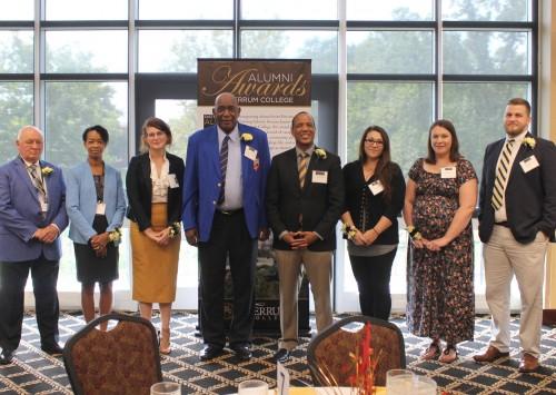 Alumni Honored During Awards Celebration on September 22
