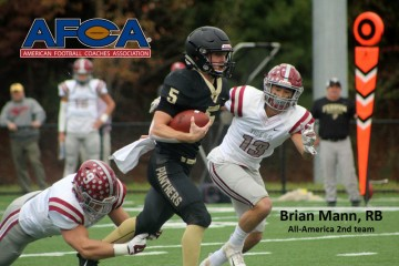 Ferrum College's Brian Mann is First-Ever Student-Athlete to Earn Academic and Athletic All-American Recognition