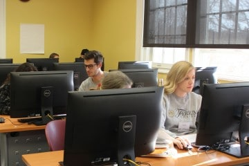 Students Assist with Tax Prep on Campus