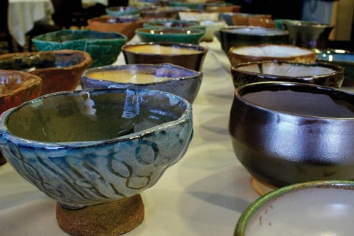 March 17 Empty Bowls Event Will Raise Money for Hungry Children