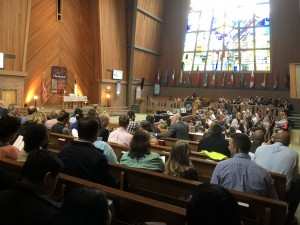 The 2019 Academic Awards Ceremony was held in Vaughn Chapel on April 12.