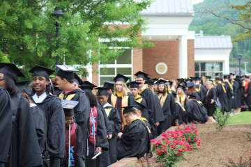 211 Ferrum College Graduates Received Their Diplomas during the 103rd Commencement