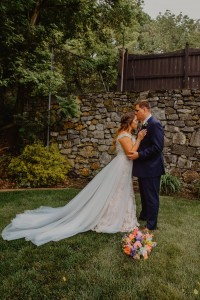 Alumna Alli '15 and Luke Summers met at Ferrum College in 2016 and married on May 11, 2019.