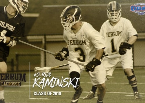 Rob Kaminski '19 Continues Education and Lacrosse at Leeds Beckett University