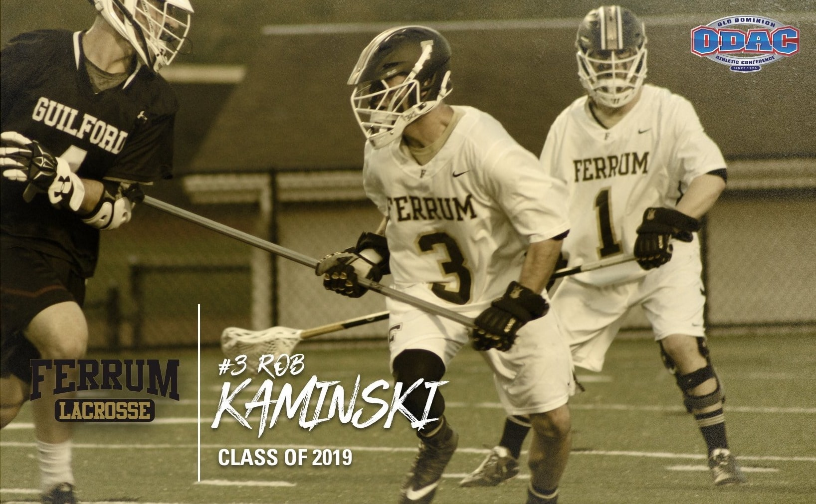 Rob Kaminski '19 has been accepted into a master's program and lacrosse program at Leeds Beckett University.