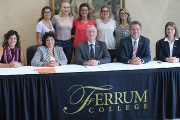 Ferrum College Signs Agreement with University of Pikeville Regarding Doctor of Optometry Program