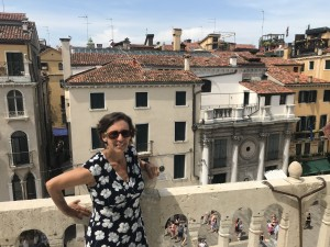 Dr. Patty Suppes presented papers in Spain during summer 2019.
