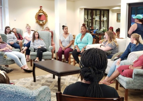 """Alumni and Current Students Gather for New """"Social Workers Speak"""" Series"""