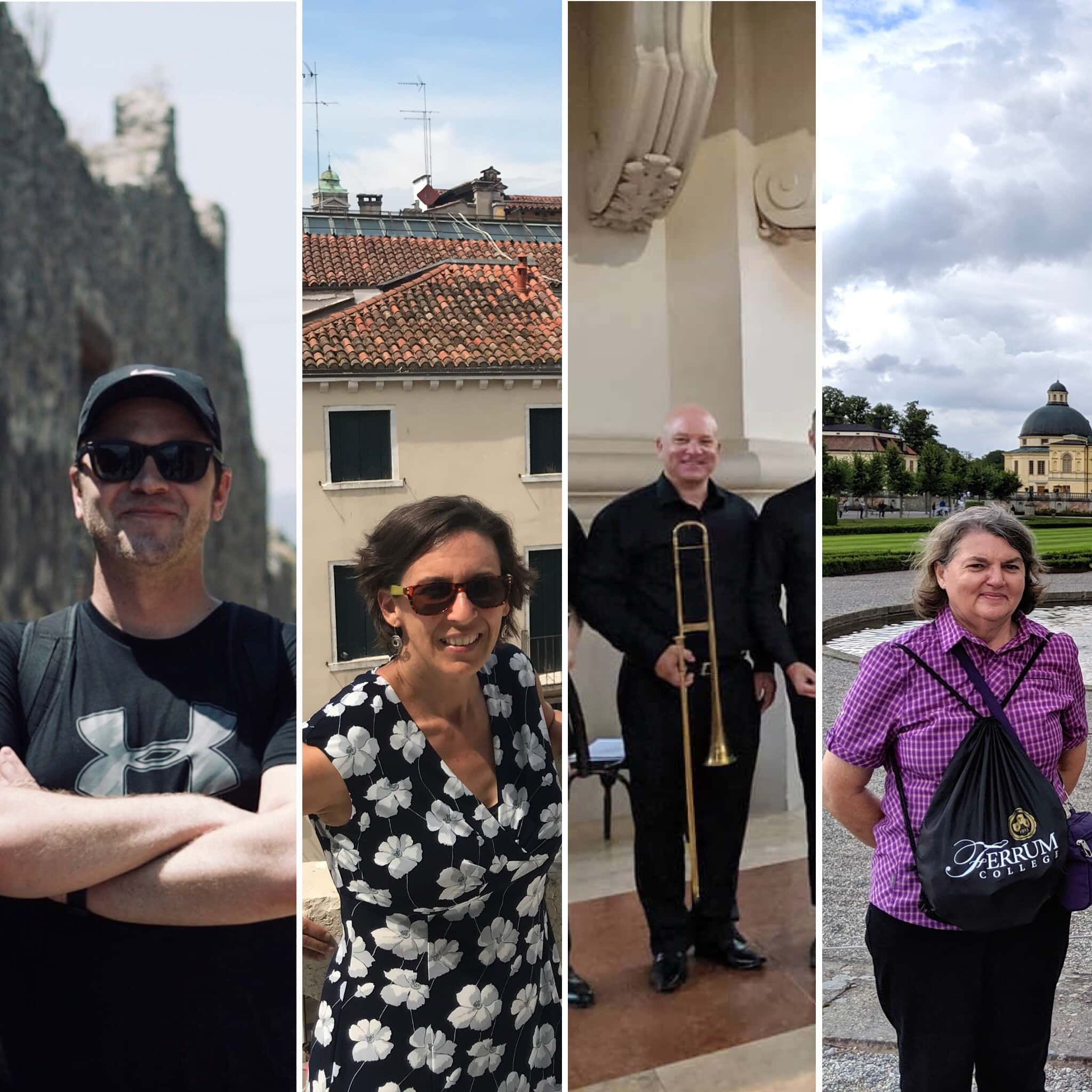 Ferrum College faculty traveled to Italy, Spain, Austria, Sweden, and Brazil over summer 2019.