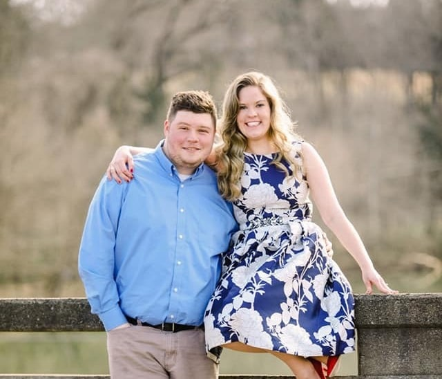Ferrum sweethearts Bradley Lael '16 and Virginia Pannill '17 will be married in Vaughn Chapel this Saturday, December 7, 2019.