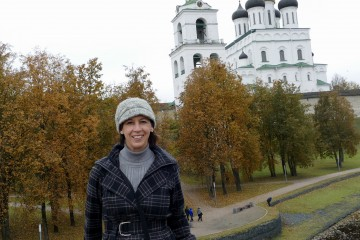 Dr. Sagasti Suppes spent a week in Russia