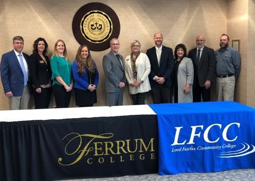 Ferrum College Signs Articulation Agreement with Lord Fairfax Community College Regarding Recreation Leadership Programs