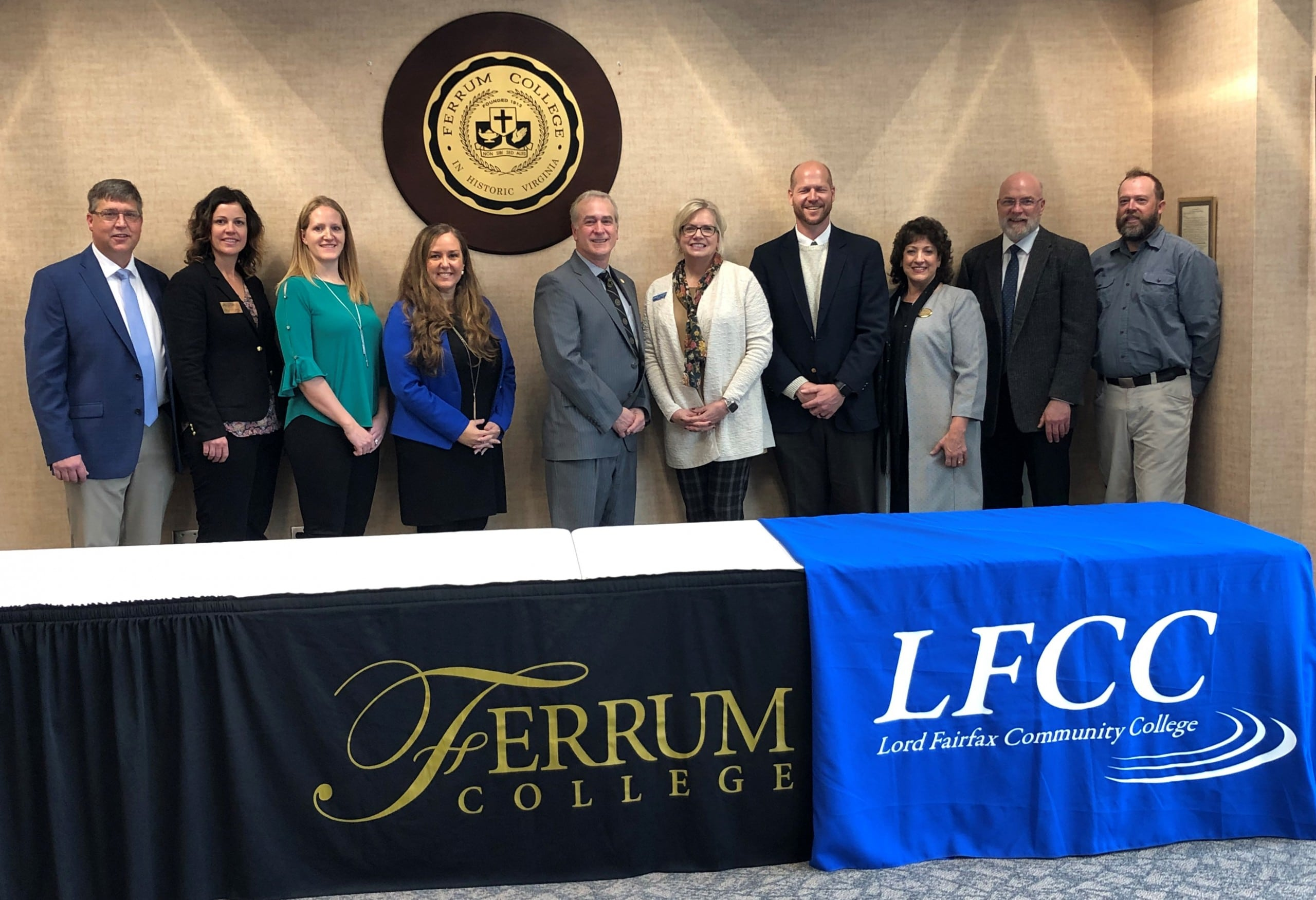 Ferrum College and Lord Fairfax Community College (LFCC) officials entered into an agreement guaranteeing admission into Ferrum College's recreation leadership program, to LFCC students who have received an Associate of Science degree in recreation and outdoor leadership.