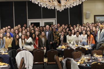 Nearly 300 Students Honored During President's & Dean's List Dinner