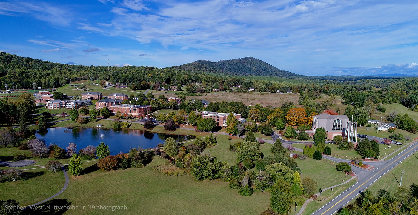 """Ferrum College fall by Stephen """"West"""" Nuttycombe, Jr. '18"""