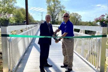 Franklin County & Ferrum College Celebrate the Completion of Ferrum Pedestrian Bridge