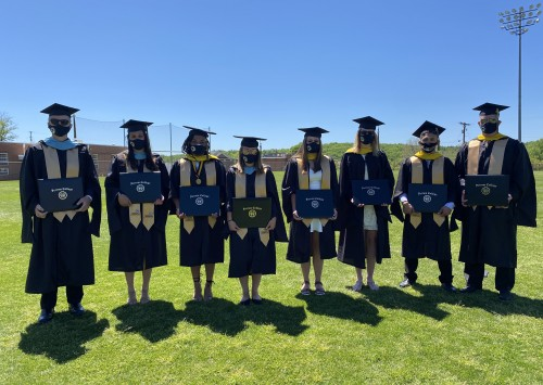 First Graduate Degree Students Make History on May 1, 2021