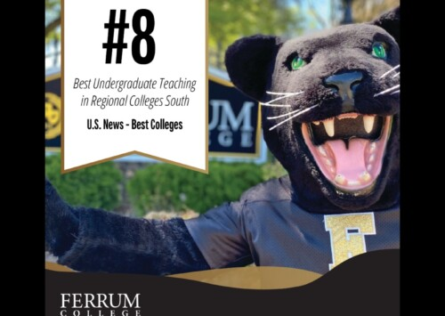 Ferrum College Ranked 8th in Undergrad Teaching, per U.S. News & World Report