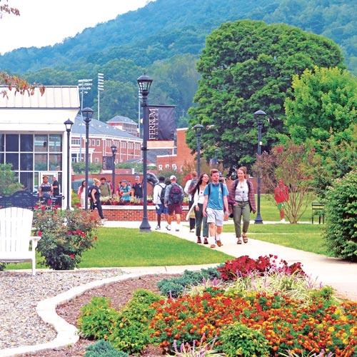 Ferrum College campus photo by D Robinson